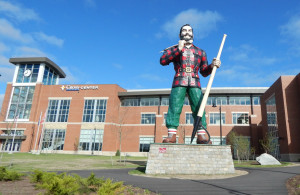 Paul Bunyan Statue Bangor Maine