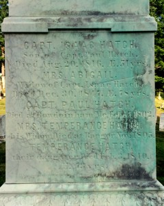 Hatch gravestone